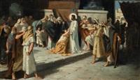 cristo predicador by luis garcia sampedro