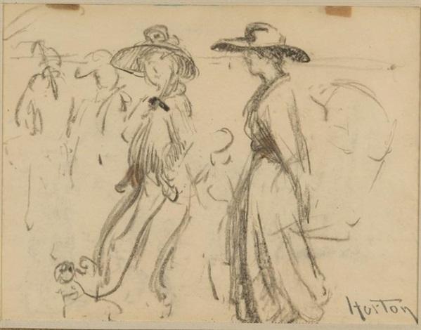 ladies in hats by william samuel horton