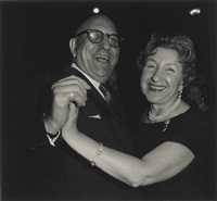 a jewish couple dancing, n.y.c., 1963 by diane arbus