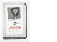 an etching and a lithograph for editions alecto (2 works) by david hockney