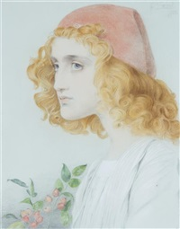 the red cap by anthony frederick augustus sandys