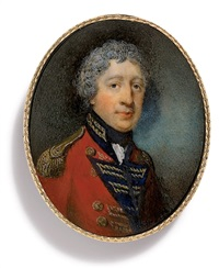 sir richard james england in military uniform by horace hone