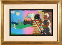 memories #2 by romare bearden
