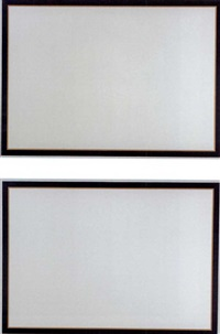 untitled (diptych) by jo baer