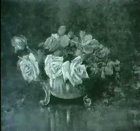 roses in a bowl by constance walton