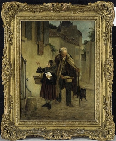 collecting for the needy by théophile emmanuel duverger