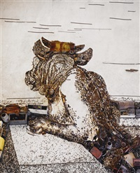 minotaur, after george frederick watts (from pictures of junk) by vik muniz