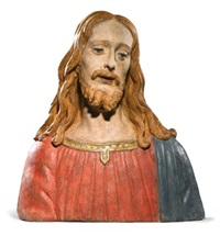 a bust of christ by agnolo di polo