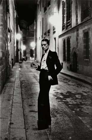 rue aubriot paris by helmut newton