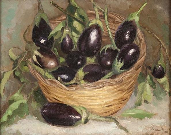 Cesto di melanzane a Capri by Carlo Siviero on artnet