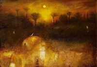 mystery of sunset by suad al-attar