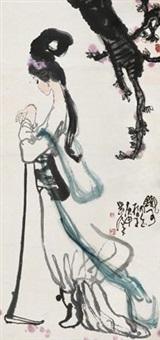 黛玉葬花 (lin daiyu) by liu han