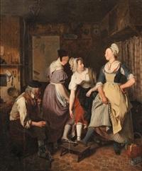 a modern judgment of paris by jean alphonse roehn