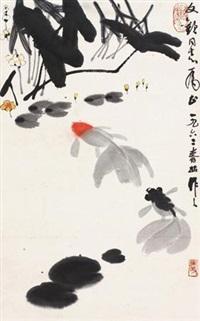 池塘春晓 by wu zuoren
