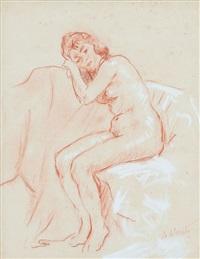 figura seduta by ambrogio antonio alciati