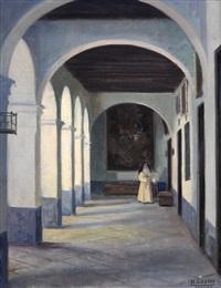 interior del convento de la trinidad by alfono grosso