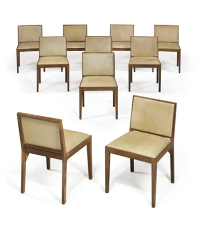 dining chairs set of 10 by philip cortelyou johnson
