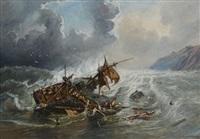 le naufrage de la corvette l'alcmène by frédéric legrip