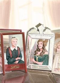 portraits souvenirs by annie goetzinger