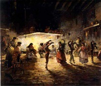 fiesta gitana by emilio alvarez díaz