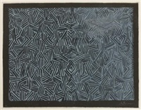 corpse and mirror by jasper johns