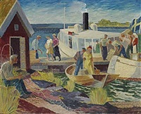 skärgårdsbåten by gunnar torhamn