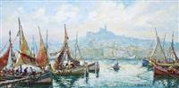 port de marseille by joseph marius hurard