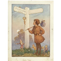 nearly there by margaret winifred tarrant