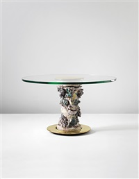 unique centre table, model no. 1295 a by lucio fontana and roberto menghi