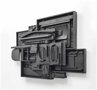 moon zag iv by louise nevelson