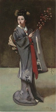 the geisha by percy sturdee