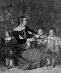 velasquez' daughter and her children by prosper mérimée