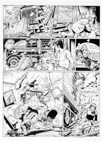 les casseurs, planche n°40 by christian denayer