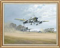 striking back, typhoons, 2nd taf 1944, normandy by gerald coulson