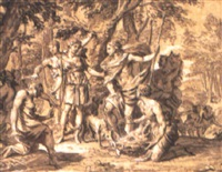atalanta och meleager by carl marcus tuscher