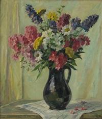 floral still life by emil rudolf weiss
