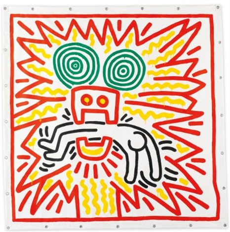 untitled #742 by keith haring