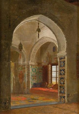 intérieur algérien by david emile joseph de noter