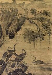 鱼鹰 by lin liang