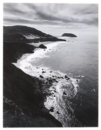 point sur storm by ansel adams