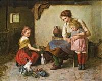 im hasenstall by edmund adler