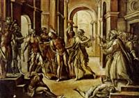 dei geißelung christi by lorenzo leonbruno