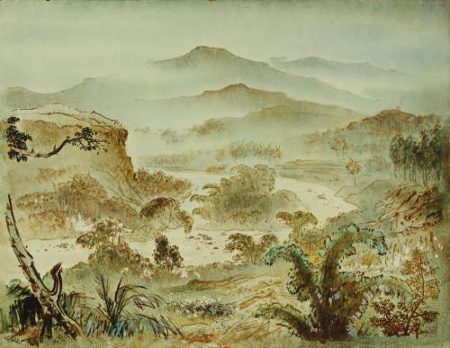 landscape by lee man fong