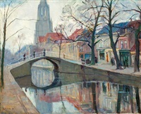 brug over de oude delft by moricz goth