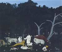 holy mountain, i by horace pippin