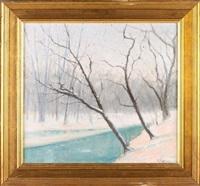 snowy wood by paul mersereau