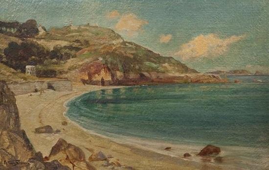 fermain bay, guernsey by arthur spooner