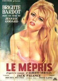le mépris (poster) by georges allard