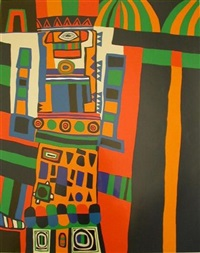 hommage to hundertwasser by jacques soisson