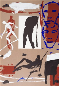 composition pour les jeux olympiques by mimmo paladino
